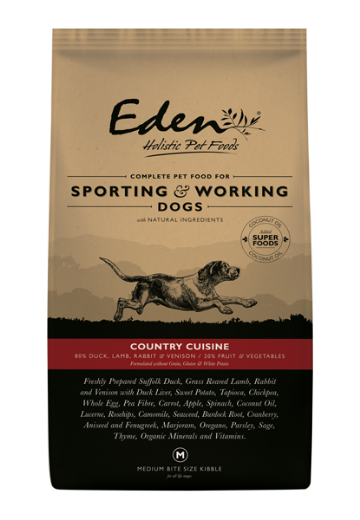Eden Working Dog Country Cuisine